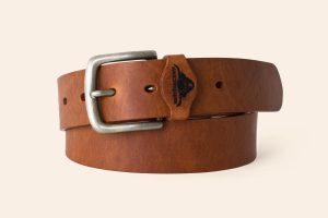 Handmade Leather belt 1½ wide Brixham Heistercamp