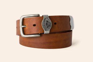 Handmade Leather belt 1½ wide Chagford - Heistercamp