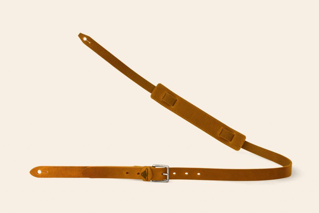 Handmade Leather Guitar Strap - Heddon - Heistercamp