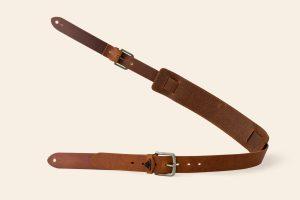 Handmade Leather Guitar Strap - Yealm -Heistercamp