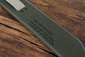 Heistercamp - Vanguard Limited Edition Guitar Strap - Make Music Not War